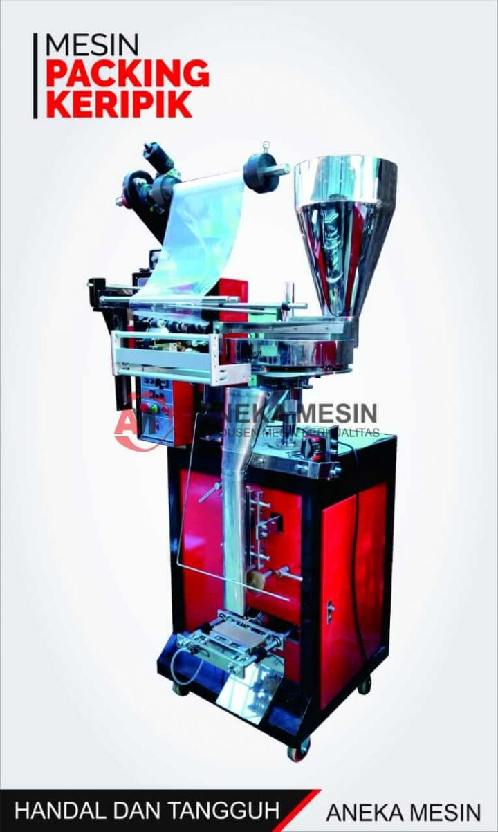 mesin packing keripik otomatis