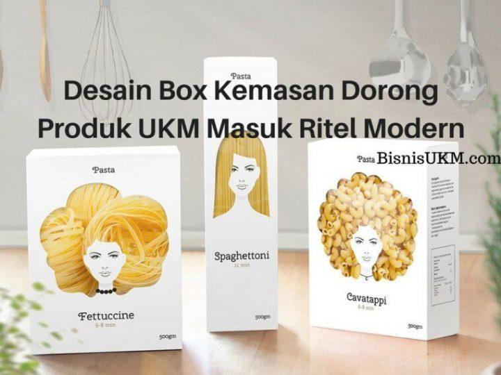 Kemasan Box Permudah Produk UKM Masuk Ritel Modern!