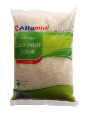 kemasan gula pasir lokal alfamidi
