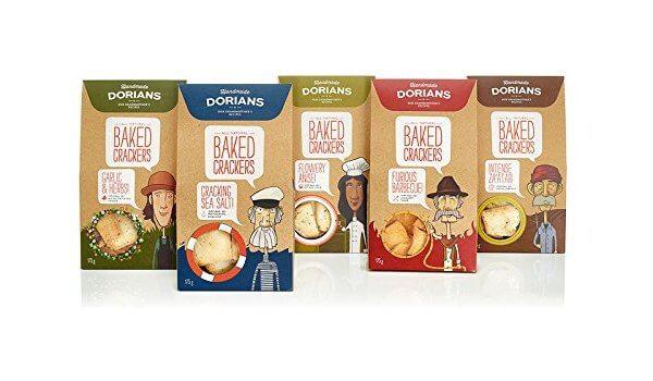 kemasan box dorians baked crackers