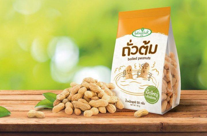 kemasan snack kacang model kantong gusset