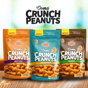 kemasan snack kacang model stand pouch