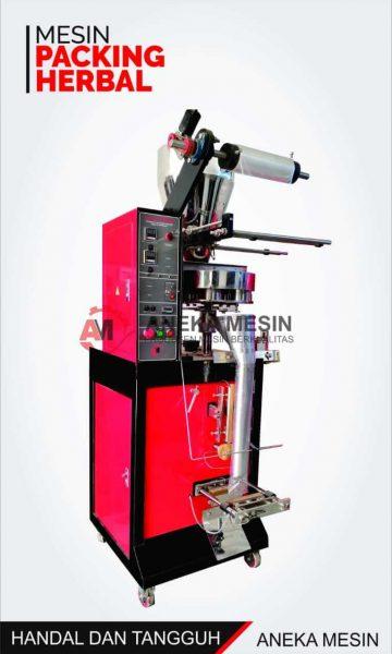 mesin pengemas herbal