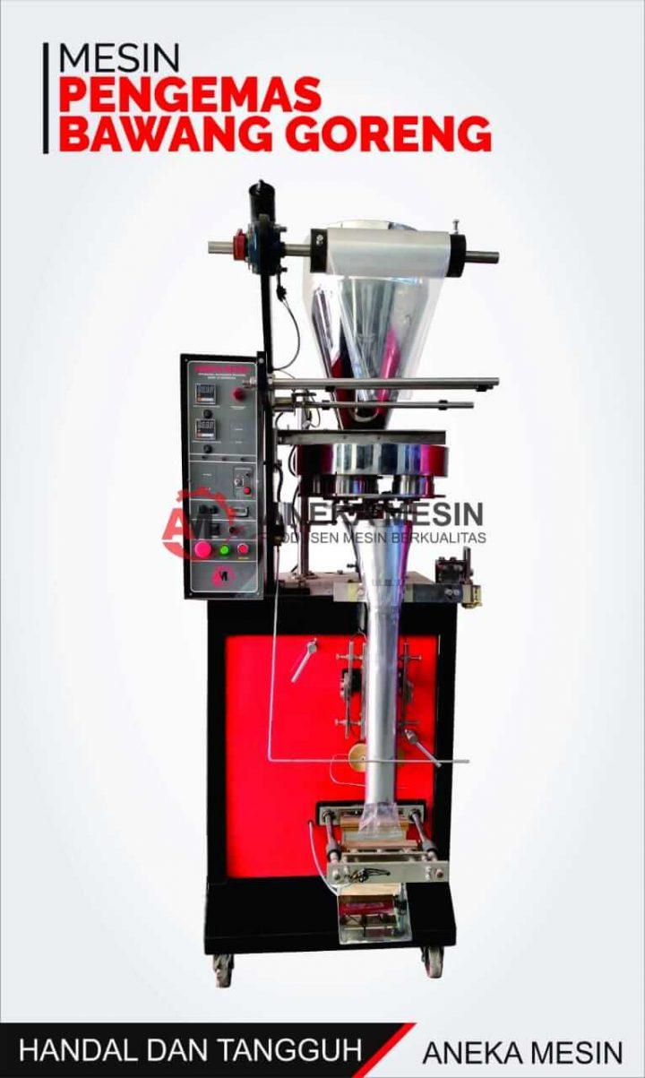 mesin kemasan bawang goreng