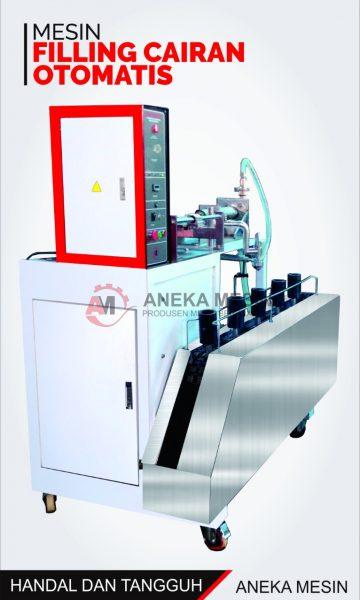 mesin pengisi botol semi otomatis