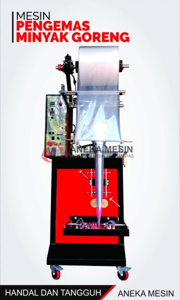 mesin packing minyak goreng