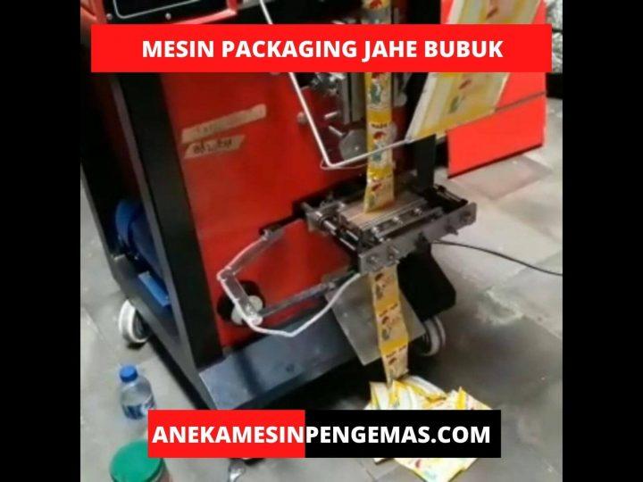 Mesin Pengemas Jahe Bubuk Untuk Mengemas Produk Minuman Anda