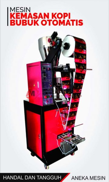 mesin kemasan kopi bubuk