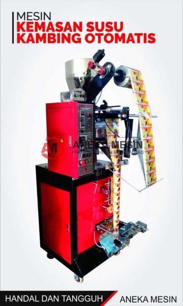 mesin kemasan susu kambing