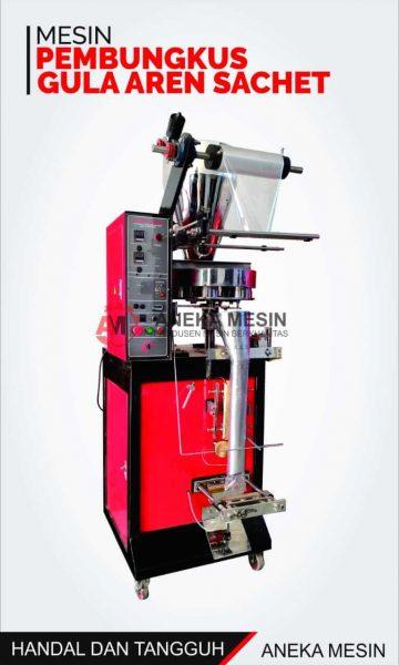 mesin pengemas gula aren