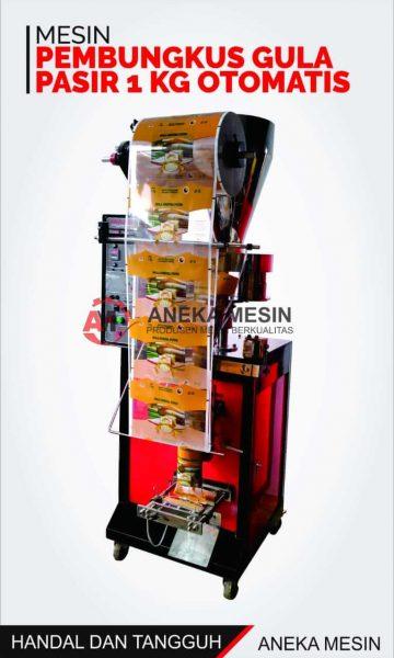 mesin pembungkus gula pasir