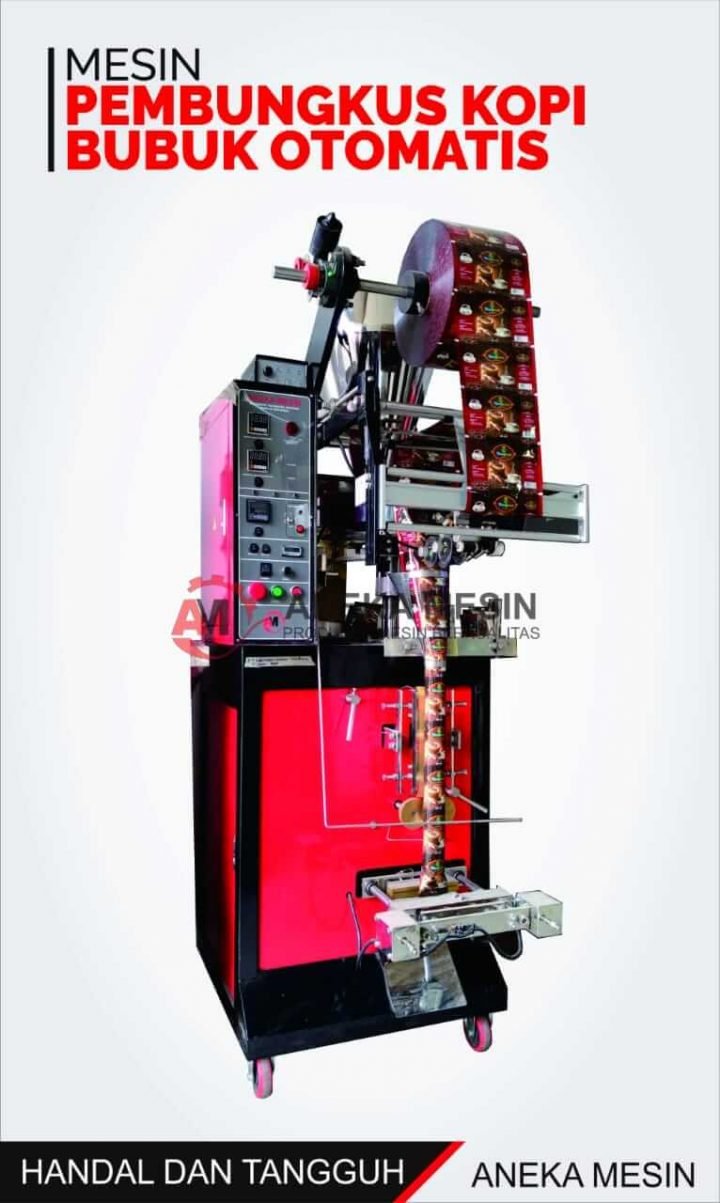 mesin pembungkus kopi bubuk