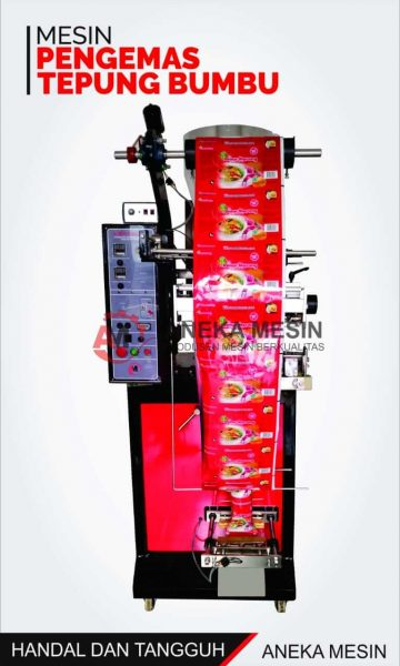 mesin packing tepung bumbu