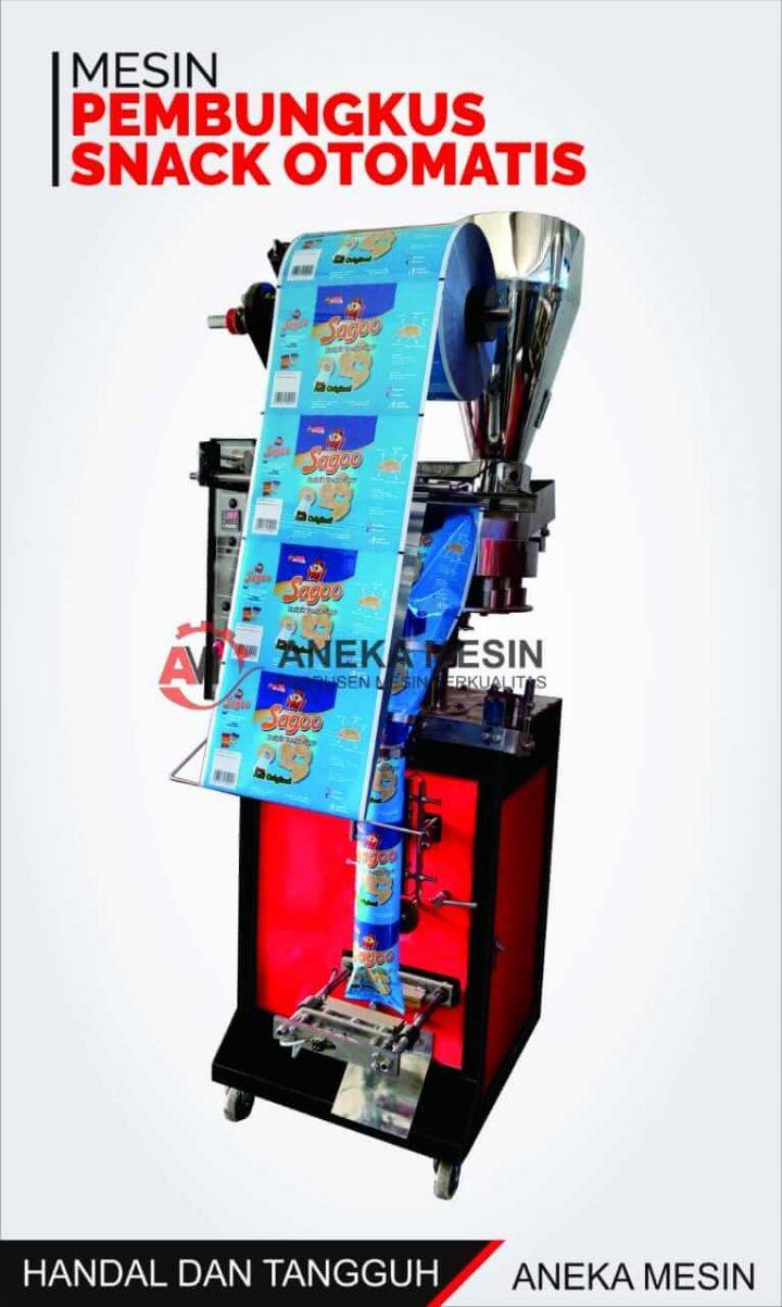 mesin pembungkus snack