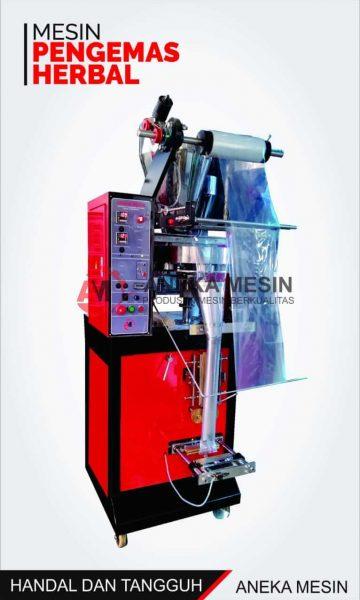 mesin kemasan herbal