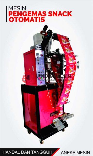 mesin pengemas snack